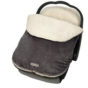 JJ Cole BundleMe fleece and Sherpa style cover